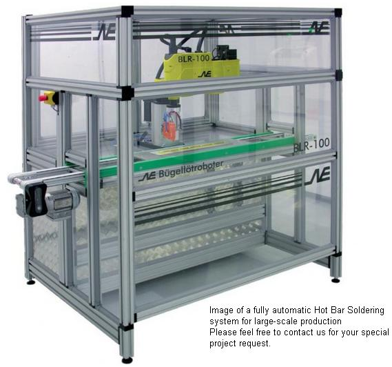 Automatic Hot Bar Soldering System