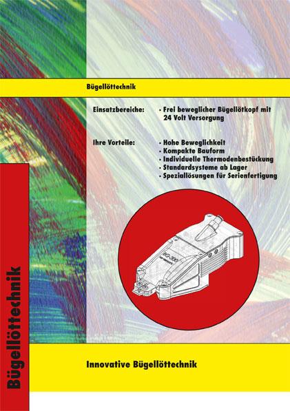 Bügellöttechnik Übersichtsblatt