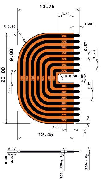 11mm Long Print Jumper