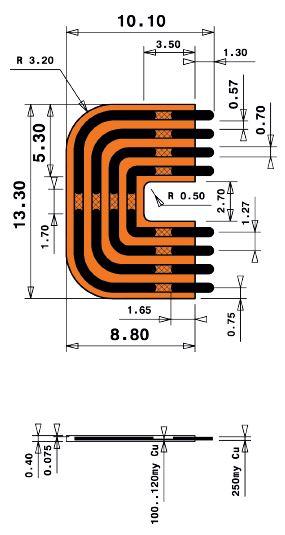 8mm Long Print Jumper en