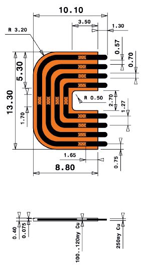 8mm Long Print Jumper