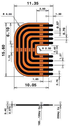 9mm Long Print Jumper en