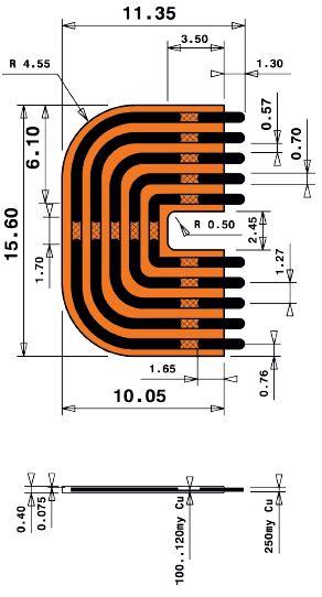 9mm Long Print Jumper