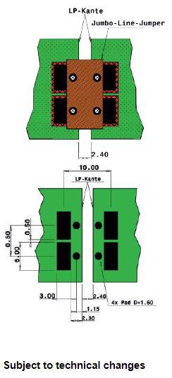 Jumbo Line Jumper Design Tips