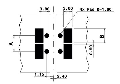 Jumbo Line Jumper Footprint