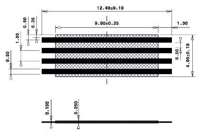Line Jumper Abstandsmass 10mm