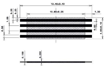 Line Jumper Abstandsmass 11mm