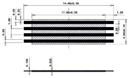 Line Jumper Abstandsmass 12mm