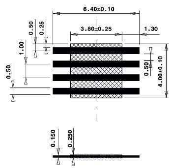 Line Jumper Abstandsmass 4mm
