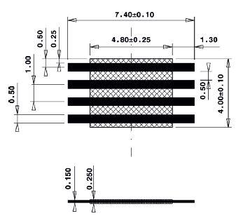 Line Jumper Abstandsmass 5mm