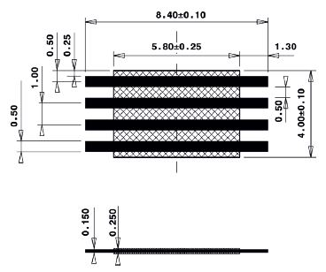 Line Jumper Abstandsmass 6mm