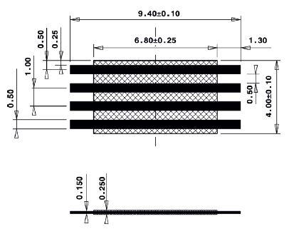 Line Jumper Abstandsmass 7mm