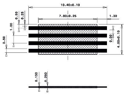 Line Jumper Abstandsmass 8mm