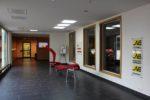Unsere moderne Eingangshalle