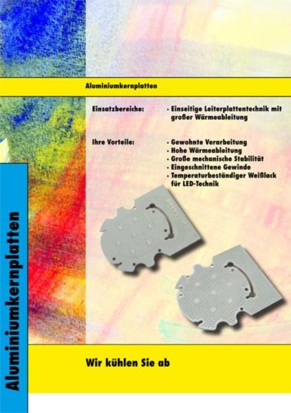 Aluminiumplattenkern