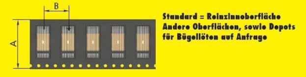 Bridge Jumper Standard Reinzinnoberflaeche
