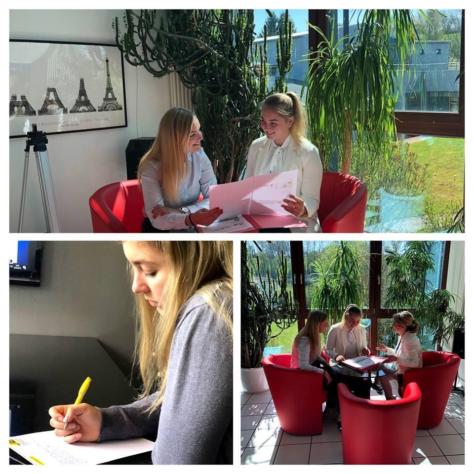 Alise aus Lettland-Valka im Praktikum