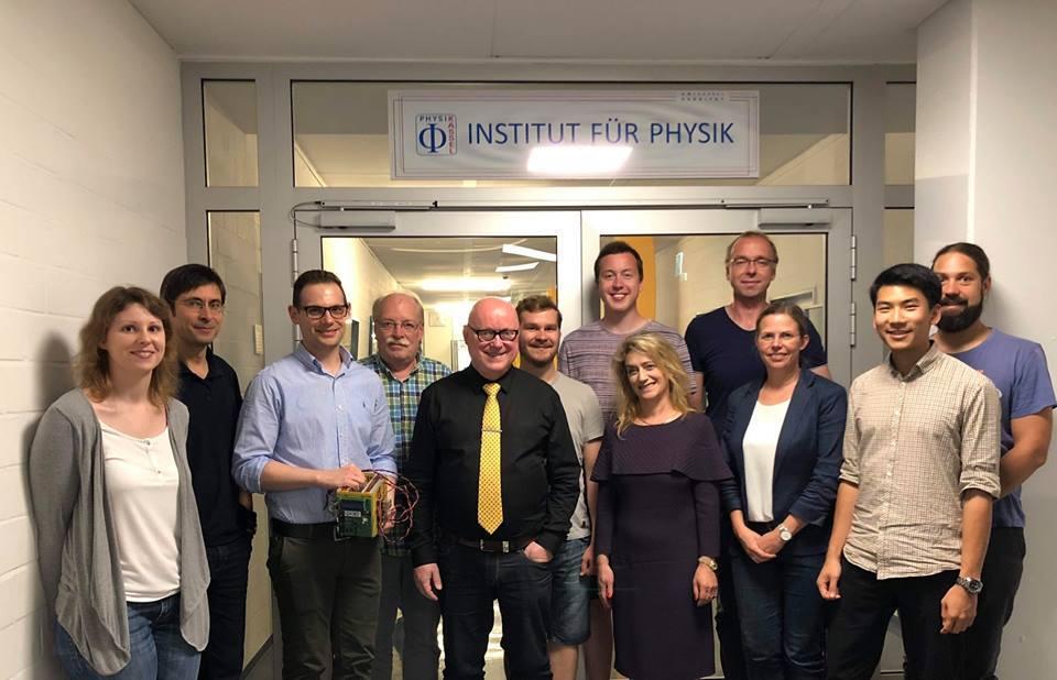 Forschungsprojektmeeting in der Uni Kassel