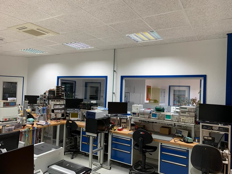 In unserem Elektroniklabor...die Produktküche! 13.06.2020