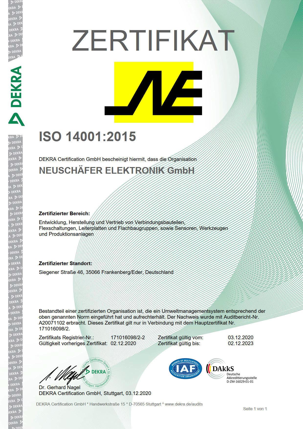 Zertifikat RZ 14001_2015 -2 Neuschäfer_1