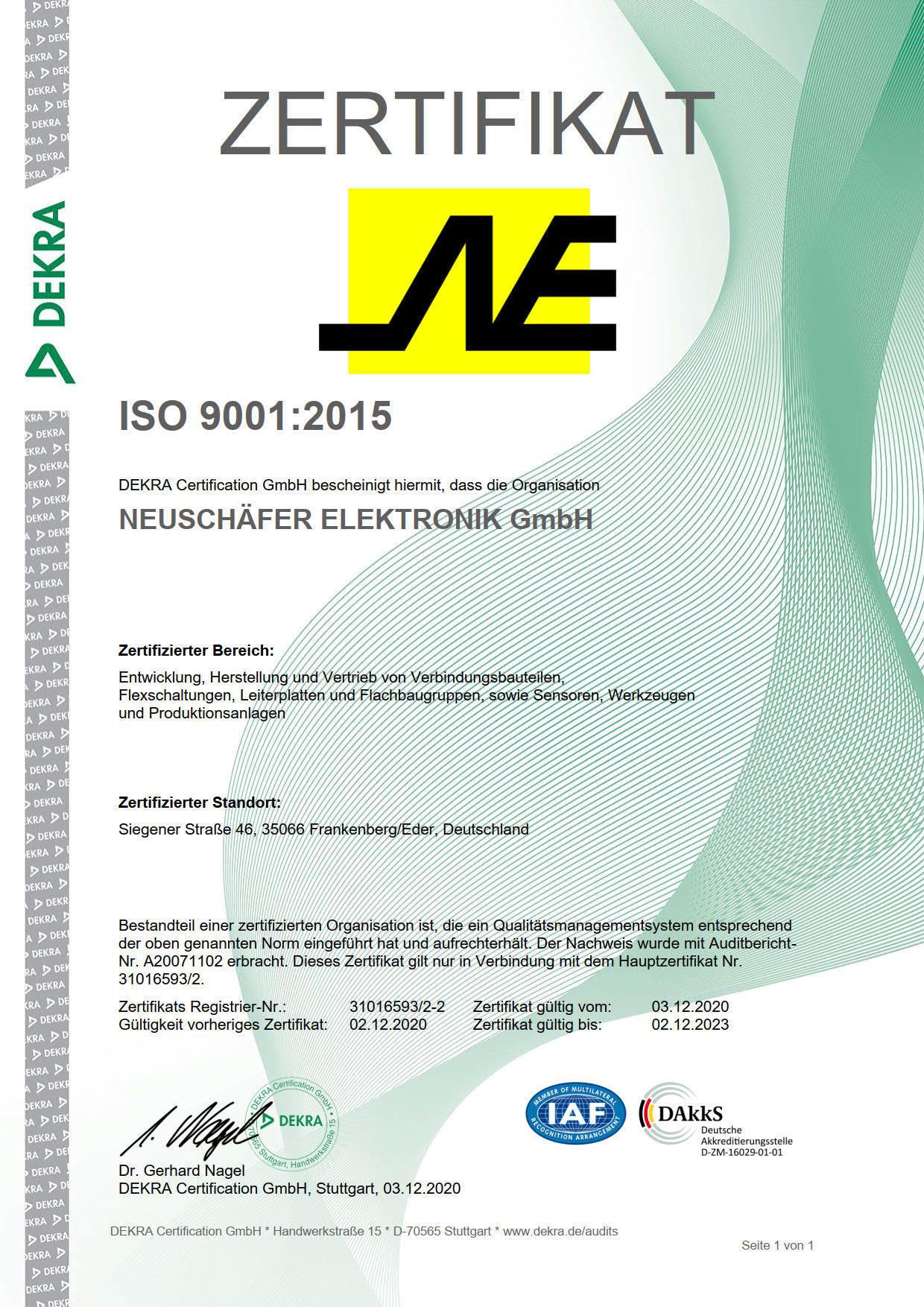 Zertifikat RZ 9001_2015 -2 Neuschäfer_1